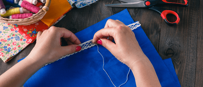 Sewing can lead to carpal tunnel